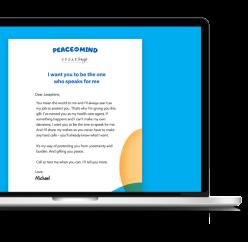 Peace of Mind e-card